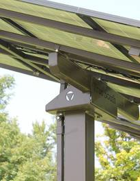 PoleV I Solar Panel Pole Mount